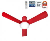 Panasonic Ceiling Fan w LED Light [F-M12GX Red]