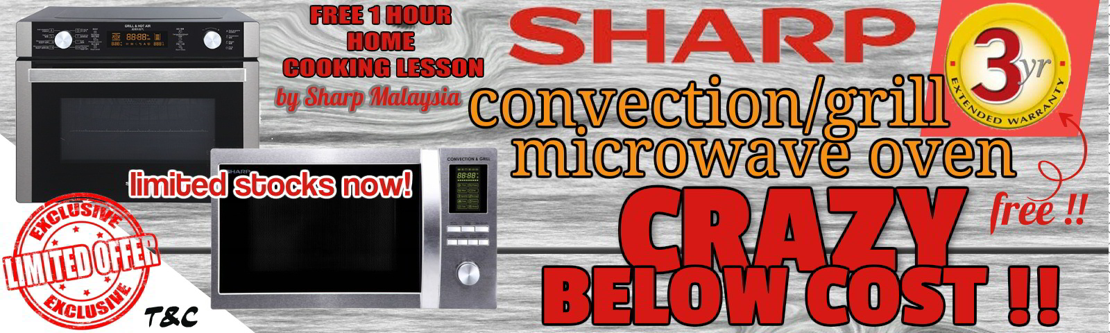 Sharp Convection Microwave on Promo!